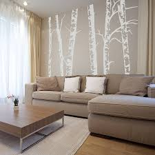 tree wall sticker gardens and landscapings decoration wall stickers birch trees silver birch trees vinyl wall sticker