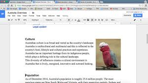 Google Doc Table Of Contents Google Docs Inserting A Table Of Contents Youtube