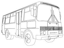 minibus coloring pages wecoloringpage