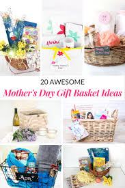 awesome mother u0027s day gift basket ideas mommy moment