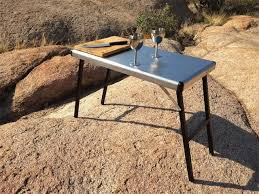 eezi awn k9 stainless steel camp table small
