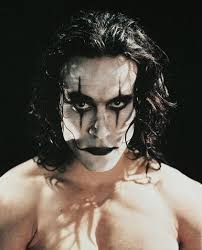 brandon lee rip he 39 s even pretty in the crow makeup forget spiderman and superman