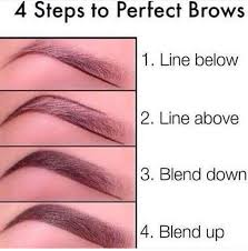 proper way to fill in eyebrows shaping your eyebrows julia grace salon