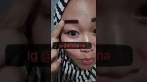membuat alis dengan henna category henna alis hot clip new video funny keclips com