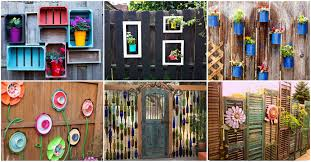 Fence Decorations 15 Stupendous Diy Fence Decorations To Add Life And Color To Your Yard