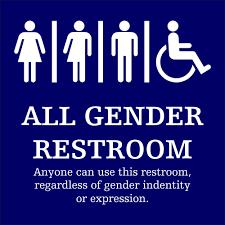 funny transgender bathroom symbol