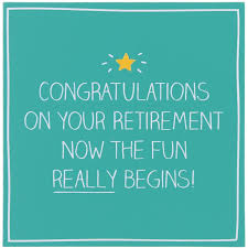 retirement card happy jackson congratulations on your retirement card temptation