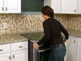 Installing Cabinets In Kitchen Install Slide In Kitchen Range Video Diy