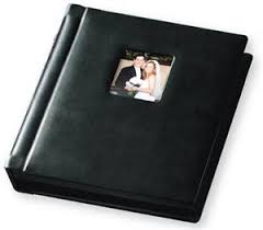 professional leather photo albums buy wholesale tap with square window black genuine leather