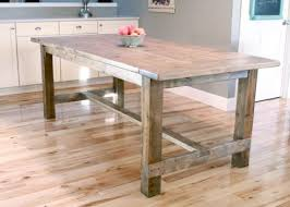 farm table kitchen island 40 diy farmhouse table plans ideas for your dining room free