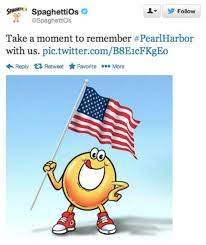 spaghettios pearl harbor tweet know your meme