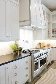 furniture design for kitchen white range brilliant kitchen with steel straps transitional