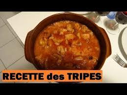 cuisiner des tripes ma recette des tripes