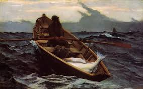 best painting winslow homer the fog warning painting best paintings for sale