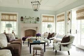 interior traditional striped patterned fabric window curtain