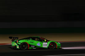 bentley penalty rinaldi ferrari takes win in eventful qualifying race official