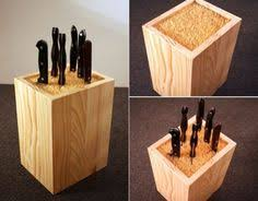 best way to store kitchen knives universal knife block knives pine and woods