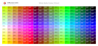 heardhomecom pretty color chart html color codes with engaging png
