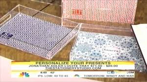holiday gift ideas jonathan adler lucite serving trays youtube