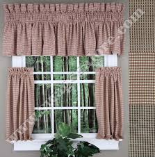 Cafe Tier Curtains Fleetwood Lined Tailored Valance Cafe Tiers Stylemaster Cafe