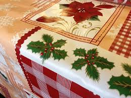 christmas table linens sale decoration sparkly christmas tablecloths christmas linen feel