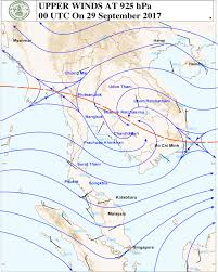 Winds Aloft Map Thai Meteorological Department Weather Charts