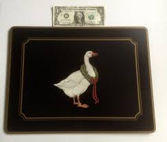 pimpernel de luxe goose traditional collection placemats