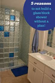Glass Block Designs For Bathrooms by 91 Best Glass Block Colored U0026 Frosted Images On Pinterest Glass