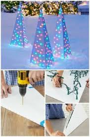 Animated Christmas Decorations Diy by Best 25 Outdoor Xmas Decorations Ideas On Pinterest Outdoor