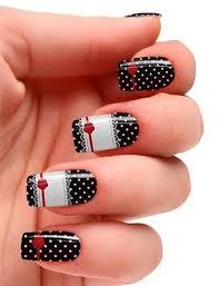 20 super cute polka dots nail designs voguex