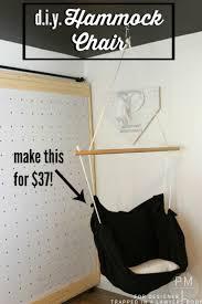 How To Make A Chair Hammock Diy Hammock Chair For 37 Full Tutorial