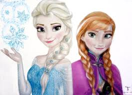 elsa anna frozen tanjadrawing deviantart princess