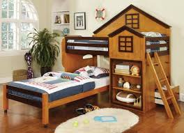 treehouse twin loft bed with desk using a treehouse twin loft