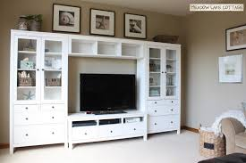ikea tv unit ikea hemnes tv stand and cabinets for a budget friendly