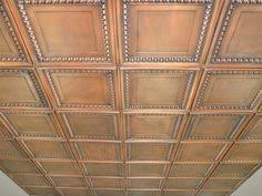 Tin Ceiling Panels by Elizabethan Shield Faux Tin Ceiling Tile 24