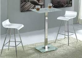 square glass pub table glass trine bar table