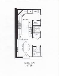 Kitchen Renovation Floor Plans Interesting Galley Kitchen Design Layout Of Designsmall For