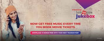 bookmyshow jukebox download latest music online on movie ticket