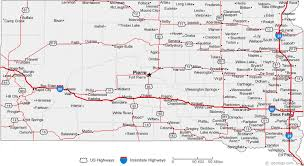 map south dakota map of south dakota cities south dakota road map