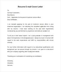 email cover letter for resume 28 images 4 cover letter emails