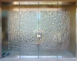 front door glass glass office front door and stone frameless glass doors u2013 glass