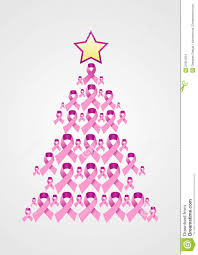 breast cancer ribbon tree stock images image 21851954