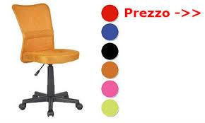 sedie da ufficio economiche sedersi comodamente con una poltrona ufficio senza braccioli