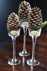 pine cone table decorations most beautiful christmas table decorations ideas all about christmas