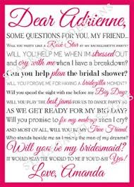 asking bridesmaids poems bridesmaid poem search royal engagement