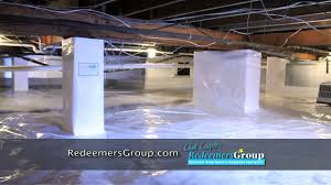 fixing dirt vented and moldy crawl spaces killing mold and dry