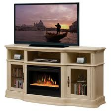 electric fireplace media console home design ideas