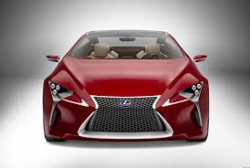 lexus sedan hybrid 2012 lexus lf lc hybrid concept coupe pictures and details