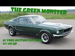1968 mustang engine for sale 1968 ford mustang fastback restoration 427 ford stroker engine