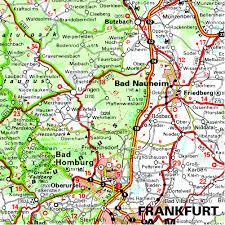 Regensburg Germany Map by Germany Midwest Regional Map 543 Michelin Regional Maps Amazon